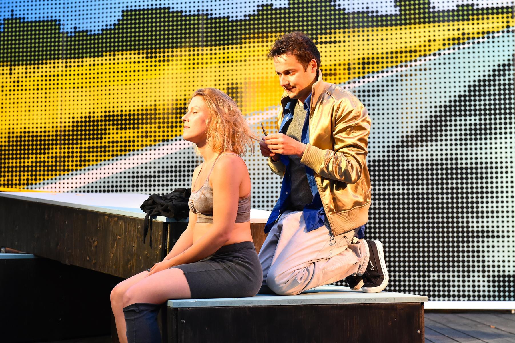 Isa und Maik (Marie-Anjes Lumpp und Tino Leo)