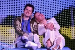 Maik und seine Mutter (Tino Leo und Marie-Anjes Lumpp)